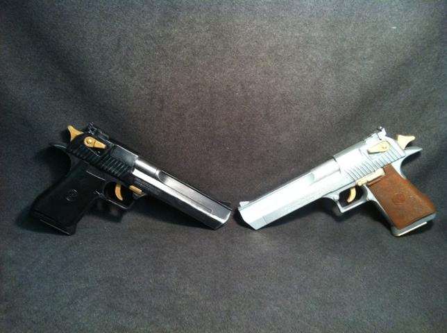 Ebony and ivory replicas