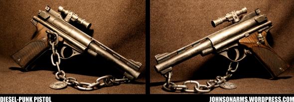 Dieselpunk Sky Pirate's Pistol