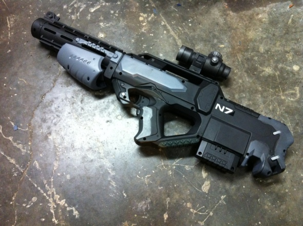 Johnson Arms Custom Movie Props And Customized Nerf Guns