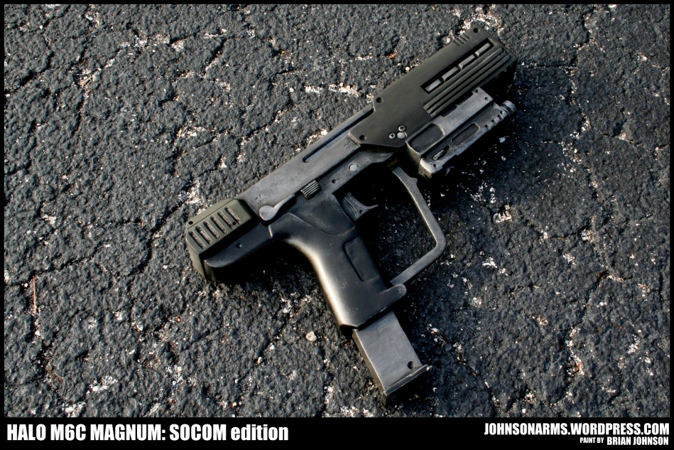 Solid Resin Kit - Halo M6C SOCOM