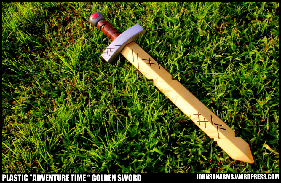 "Repaint of Finn's Golden Sword from ""Adventure Time"""