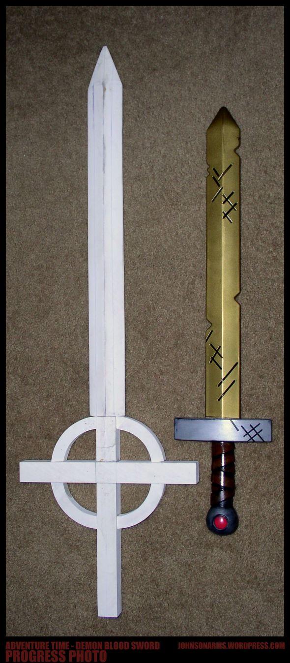 Demon Blood Sword taking shape!