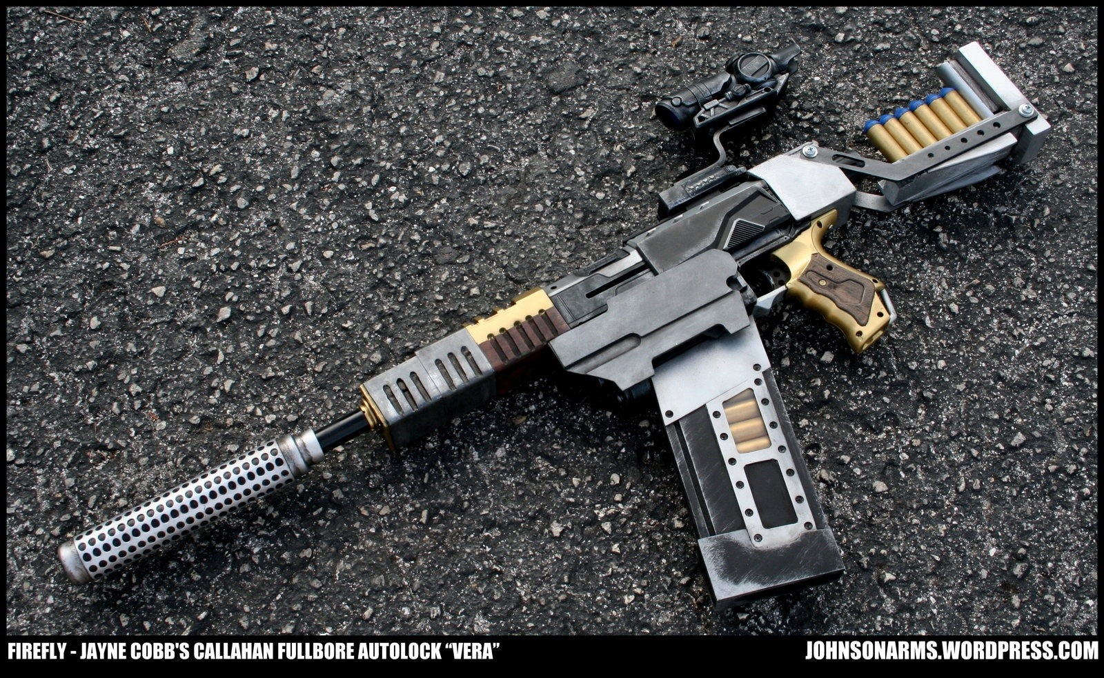 Nerf alien m41-a pulse rifle by billy2917